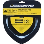 Jagwire HyFlow Disc Hose Sterling Silver 3000mm Requires Jagwire HyFlow Quick-Fit Kit