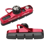 TRP Inplace Road Cartridge Brake Pads with Red Holders Front and Rear Set of 4