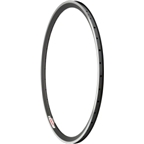 Velocity Chukker 700c 36h Black with Machined Sidewall