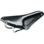 Brooks Team Pro Classic Black Chrome Steel Rail
