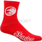 The Shadow Conspiracy Classic Crew Sock: Red; One Size Fits Most