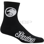 The Shadow Conspiracy Classic Crew Sock: Black; One Size Fits Most