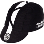 Pace Traditional One Less Car Cycling Cap: Black