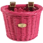 Nantucket Gull D-Shape Child Basket: Pink