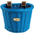 Nantucket Buoy D-Shape Child Basket: Royal Blue