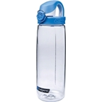 Nalgene Tritan OTF Bottle: Clear with Blue Cap; 24oz