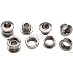 Sugino Double Chainring Bolt Set/5 Chromed Steel