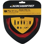 Jagwire Road Pro XL Complete Road Brake & Derailleur DIY Kit Red