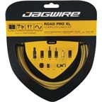 Jagwire Road Pro XL Complete Road Brake & Derailleur DIY Kit Gold Medal