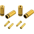 Jagwire End Cap Hop-Up Kit 4.5mm Shift Gold