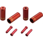 Jagwire End Cap Hop-Up Kit 4.5mm Shift Red