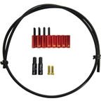 Jagwire End Cap Seal Kit 5.0mm Brake Red