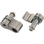 Jagwire Stainless Cable Grip, Adjustable Fits Up to 6mm, Pair