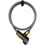 OnGuard Akita Non-Coil Cable Lock with Key: 10' x 12mm