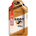 Clif Shot: Mocha with Caffeine; 24-Pack