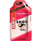 Clif Shot: Strawberry with Caffeine; 24-Pack