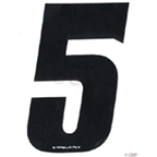 "Tangent BMX Number Pack ""5"" (10-Pack)"