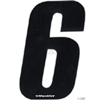 "Tangent BMX Number Pack ""6"" (10-Pack)"
