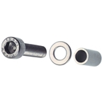 Problem Solvers Cantilever stud repair kit: replacement cylinder and bolt, repairs one stripped or broken stud