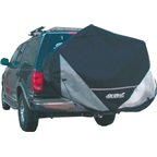 Skinz Hitch Rack Rear Transport Cover: Fits 1-2 Bikes; Black; Standard #RTC100