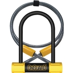 OnGuard Bulldog Mini DT U-Lock with Cable: 3.5 x 5.5""