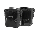 Ortlieb Sport-Roller City Front Pannier: Pair; Black (Formerly Front-Roller City)
