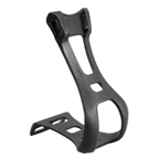 Dimension Basic Toe Clips Black LG/XL No Straps Included