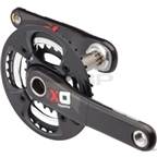 SRAM X0 175mm BB30 36-22 -Ring Guard Black/Red; Bottom Bracket Not Included