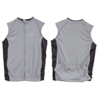 Origin8 TechSport Sleeveless Cycling Jersey - Gray