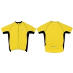 Origin8 TechSport Cycling Jersey - Yellow