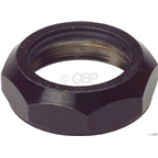 "Tange Levin CDS 1"" Steel Top Nut Black"