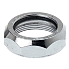 "Levin CDS 1"" Steel Top Nut Silver"