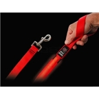 Nite Ize Dawg LED Pet Leash: Red