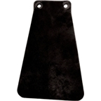 Velo Orange Handcut Leather Mud Flaps for Fender: Black
