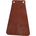 Velo Orange Handcut Leather Mud Flaps for Fender: Brown