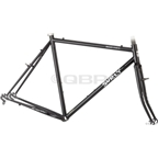 Surly Cross Check Frame Set Black New Crown