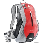 Deuter Race Backpack: Fire/Silver