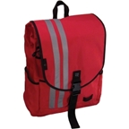 Banjo Brothers Commuter Backpack: MD; Red