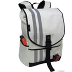 Banjo Brothers Commuter Backpack: MD; White