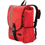 Banjo Brothers Commuter Backpack: LG; Red