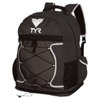 TYR Transition Backpack: Black/Black