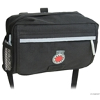 Banjo Brothers Handlebar Bag: MD; Black