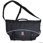 Banjo Brothers Messenger Bag: MD; Black