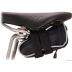 Banjo Brothers Seat Bag Deluxe: Mini; Black