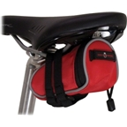Banjo Brothers Seat Bag Deluxe: Mini; Red