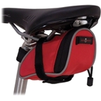 Banjo Brothers Seat Bag Deluxe: Small; Red