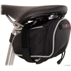 Banjo Brothers Seat Bag Deluxe: Medium; Black