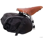 Banjo Brothers Waterproof Saddle Trunk: Black
