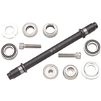 Surly Ultra NEW Hub Axle Kit for 135mm Rear Silver