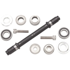 Surly Ultra NEW Hub Axle Kit for 120mm Rear Fix/Free Silver